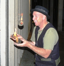 Mike Juggling Fire
